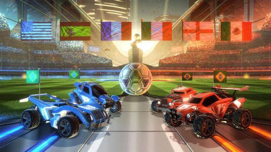 Rocket League, la nouvelle star des jeux de« bagnoot».