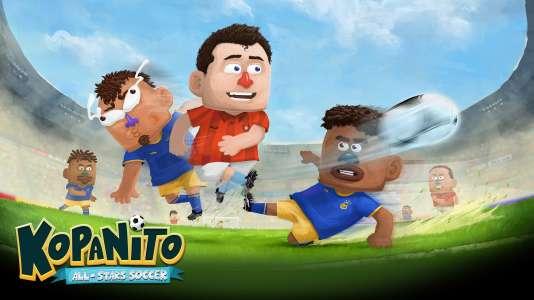 Illustration du jeu PC polonais Kopanito All-Star Soccer.