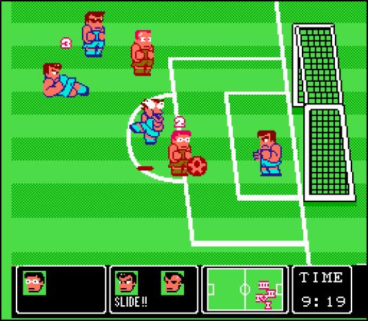 Nintendo World Cup et ses joueurs sans foi ni loi, en 1990.