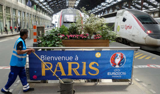 Gare de Lyon à Paris, le 7 juin.