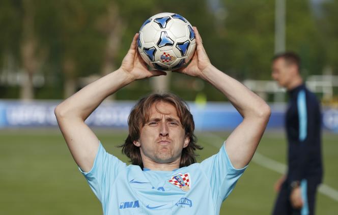 Luka Modric remet en jeu, le 7 juin à Deauville.