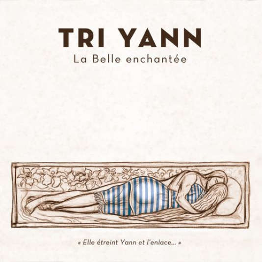 La pochette version « rhabillée» de l'album de Tri Yann, « La Belle enchantée».