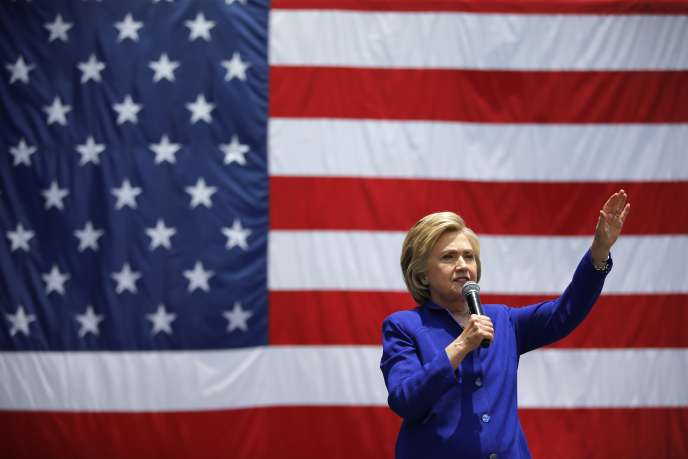 Hillary Clinton, le 6 juin à Lynwood en Californie.