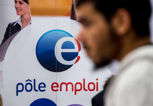Dans un Pôle emploi à Villeneuve-d'Ascq, en 2014.