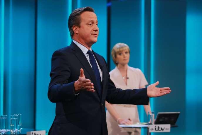 David Cameron sur ITV, mardi7juin.