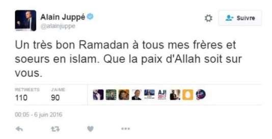 Le faux tweet qui a conduit Alain Juppé à porter plainte