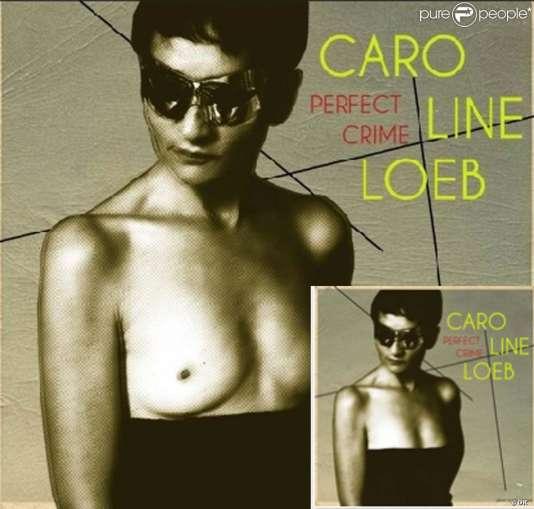 Les deux versions de la pochette de l'album de Caroline Loeb, « Perfect Crime».