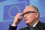 FransTimmermans, premier vice-président de la Commission européenne, le 1er juin.