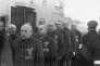 Prisonniers homosexuels du camp de concentration de Sachsenhausen, dans l'est de l'Allemagne, en1938.
