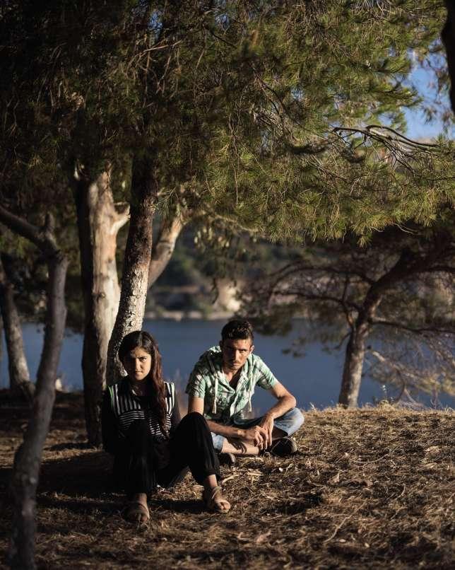 Lina Elias et son frère Hazim font partie de la communauté yezidi, minorité religieuse persécutée par Daech. Ils ont fui le Kurdistan en août 2014 pour que Lina ne devienne pas une esclave sexuelle.