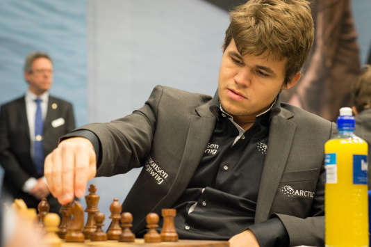 Le Norvégien Magnus Carlsen, en 2013.
