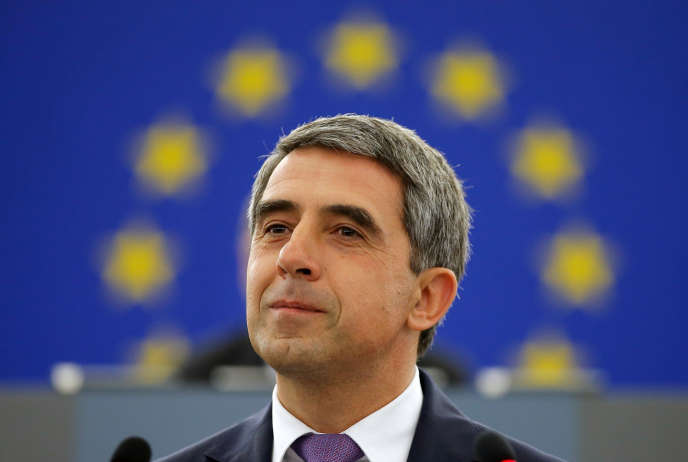 Le président bulgare, Rossen Plevneliev, à Strasbourg, le 8 juin.