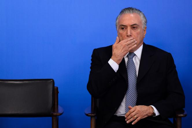 Le gouvernement par intérim de Michel Temer est éclaboussé par le scandale Petrobas.