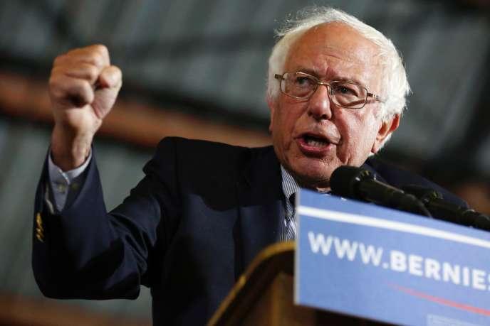 Bernie Sanders à Santa Monica, le 7 juin.