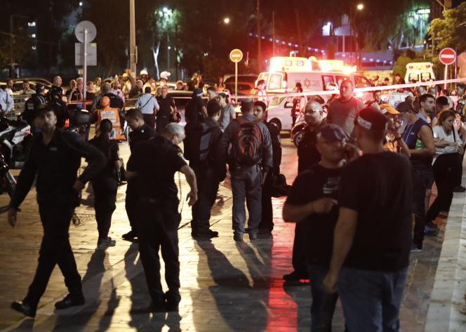 La fusillade a eu lieu près du ministère de la défense.