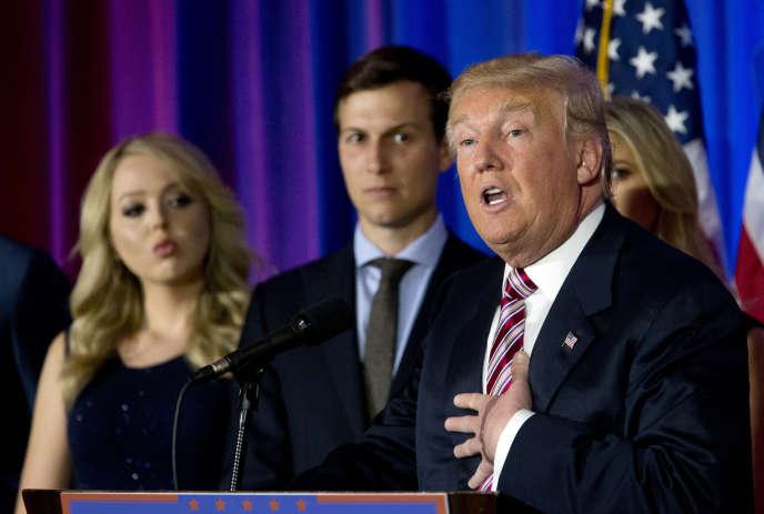 « Mon beau-père n'est pas antisémite. C'est aussi simple que ça. Donald Trump n'est pas antisémite et il n'est pas raciste », affirmeJared Kushner.