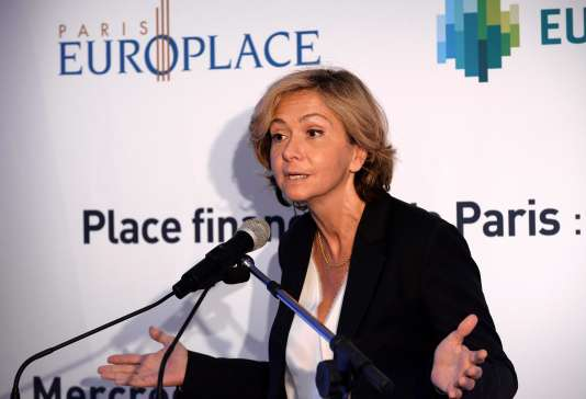 Valérie Pécresse, présidente LR de la région Ile-de-France, lors d'un forum organisé parParis Europlace, le lobby de la place financière de Paris, le 8 juin.