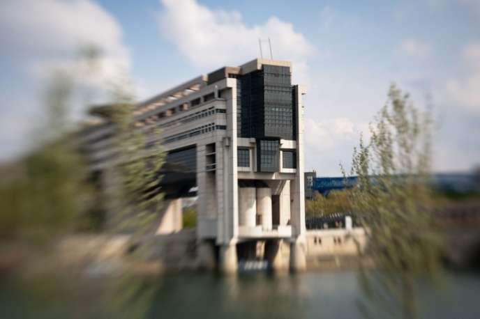 Le ministère des finances à Bercy.