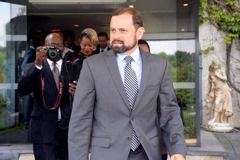 Thomas Perrello, émissaire spécial du présidentBarack Obama pour l'Afrique des Grands Lacs. Ici à Genval, en Belgique, début juin 2016, où se retrouvait l'opposition congolaise.