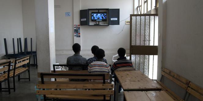 Addis-Abeba, juin 2016 : le centre de transit accueille des mineurs rapatriés après avoir tenté de se rendre à l'étranger illégallement.