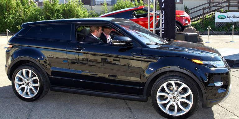 Un Range Rover Evoque, en octobre 2011 à New York.