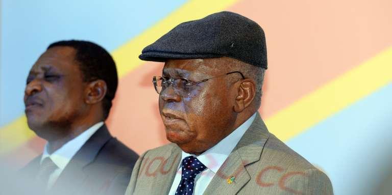 Le vieux leader de l'Union pour la démocratie et le progrès social, Etienne Tshisekedi, le 8 juin.