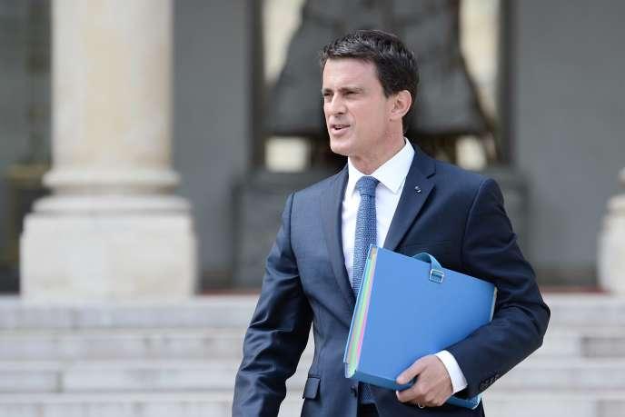 Manuel Valls, le 8juin.