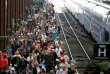 La Gare de Lyon pendant la grève à la SNCF, le 7 juin.