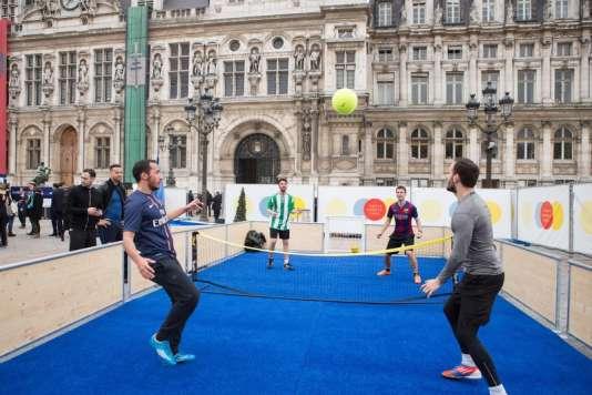 Le Paris Sport Parc s'installe dans différents arrondissements de la capitale.