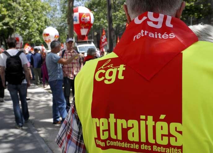 Lors de la manifestation du 9 juin, à Paris.