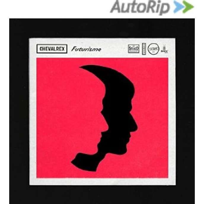 Pochette de l'album de Chevalrex, « Futurisme».