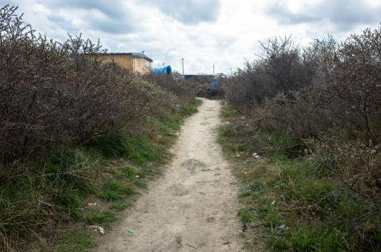 Dans« la Jungle» de Calais.