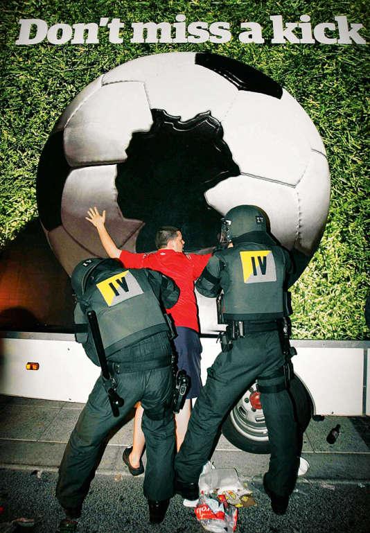 A Stuttgart, en Allemagne, le 24 juin en 2006, des débordements avaient été causés par quelque 200 supporteurs anglais.