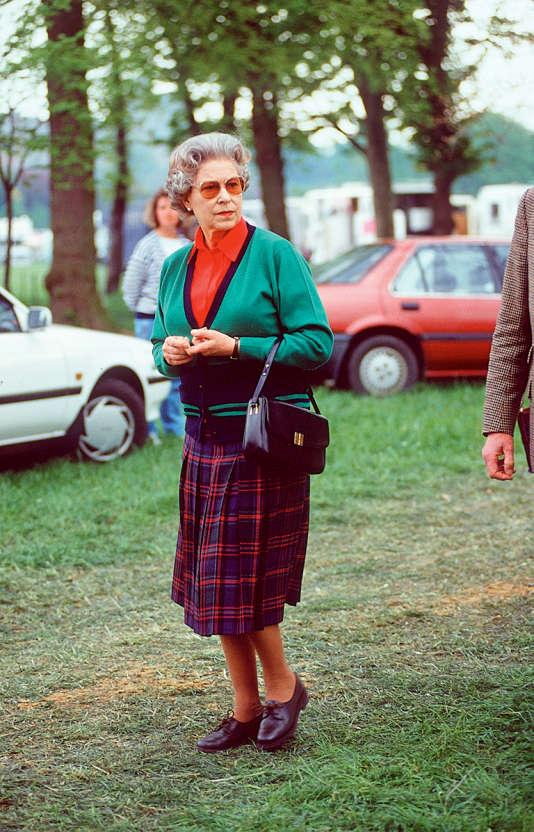 Au château de Windsor, le 10 mai 1991.