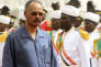 Le président de l'Erythrée, Issayas Afeworki, lors d'une visite dans la capitale soudanaise, Khartoum, le11 juin 2015.