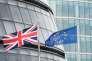 Les drapeaux européens et britanniques à Londres le 23 juin.
