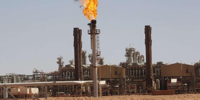Complexe gazier deTiguentourine à In Amenas, 1 600 km au sud d'Alger, en 2013.