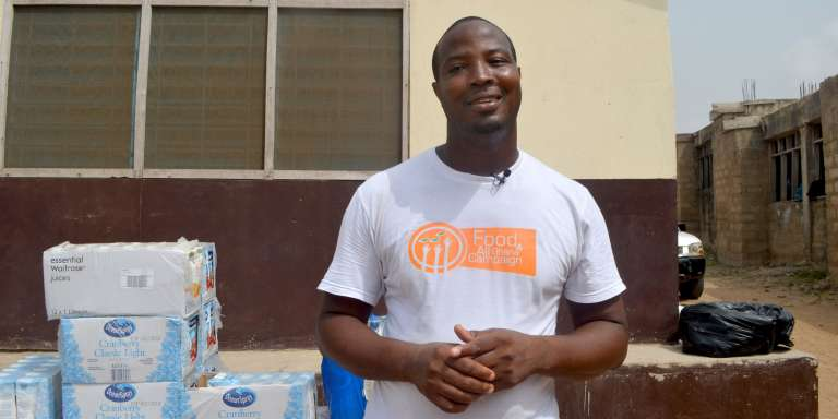 Le chef Elijah Amoo Addo a créé l'association Food For All Ghana à Accra, en 2012.
