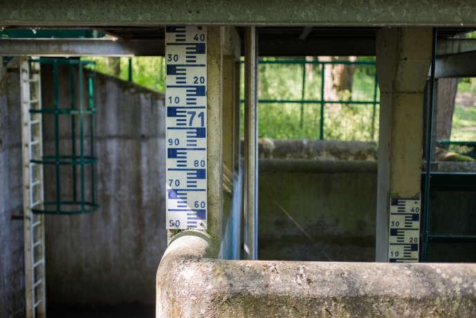 Chalet de télégestion, bassin des Damoiseaux à Igny.