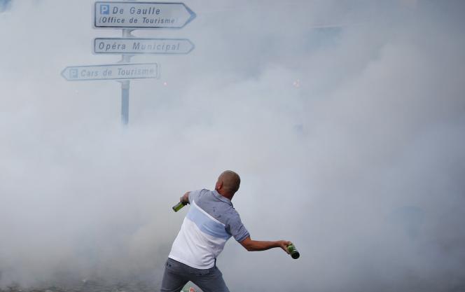 Un hooligan anglais, le 10 juin à Marseille.