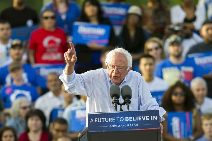 Les premiers résultats montrent que Bernie Sanders est battu (de quelque 12 points) par Hillary Clinton jusque dans le fief ultra-progressiste de San Francisco, où il avait réuni plus de 10 000 fidèles pour un méga-concert deux jours avant le scrutin.