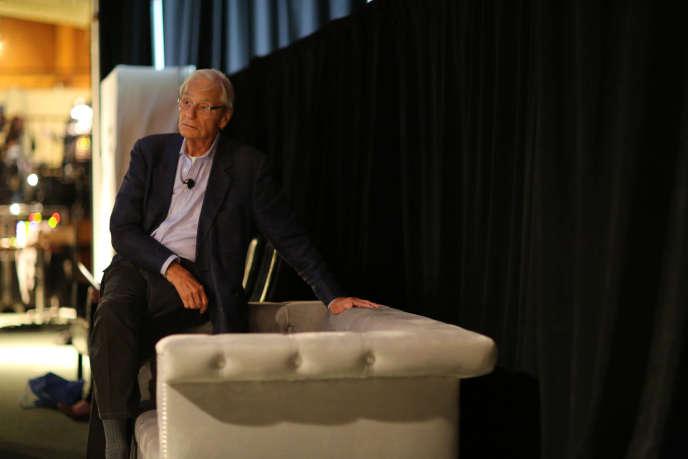 Thomas J. Perkins, ancien dirigeant du groupe informatique Hewlett-Packard et célèbre investisseur de la Silicon Valleyen 2013.