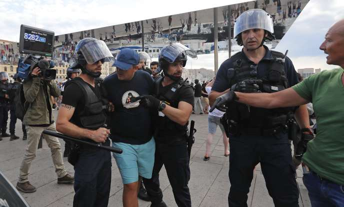 A Marseille, le 10 juin.
