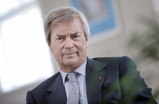 Vincent Bolloré, PDG de Vivendi, en 2015.