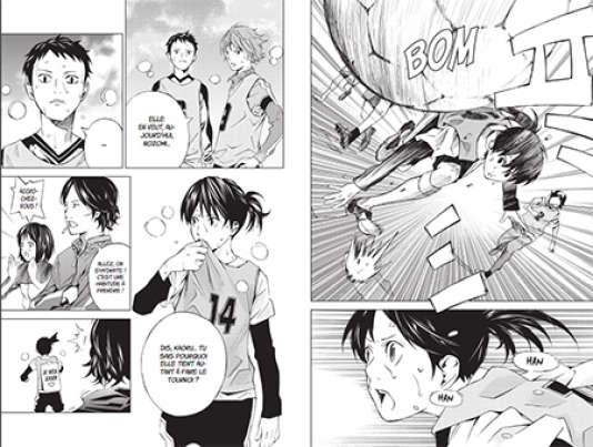 Nozomi doit aussi s'imposer au sein de l'équipe masculine.