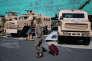 Eurosatory, le salon international de la défense et de la sécurité, Villepinte, le 18 juin 2014