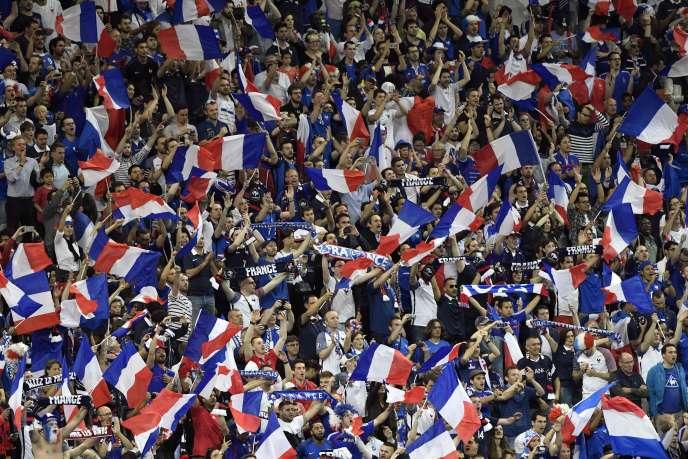 Lors du match France-Roumanie, vendredi 10 juin, au Stade de France.