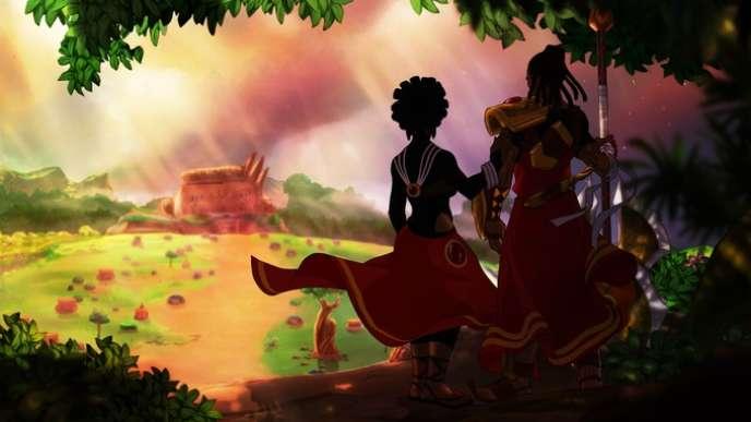 «Aurion», jeu camerounais de 2016.