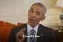 Le president Barack Obama dans sa video de soutien à Hillary Clinton le 9 juin 2016.