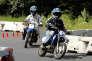 Des enfants sur des minimotos, sur le circuit de Monneret, à Meudon, en 2007.